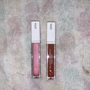 2 ofra liquid lipsticks